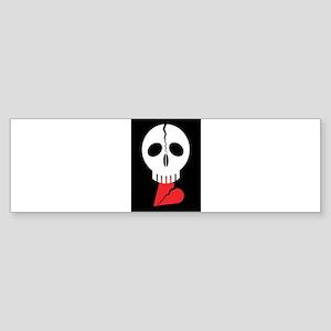 open heart Bumper Sticker