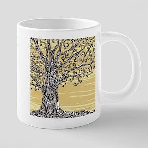 Tree Art 20 oz Ceramic Mega Mug