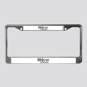 Shiver Me Timbers License Plate Frame