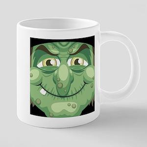 Witch Face 20 oz Ceramic Mega Mug