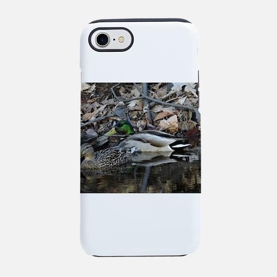 Duck Couple iPhone 7 Tough Case