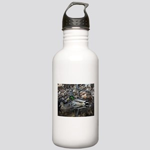 Duck Couple Stainless Water Bottle 1.0L