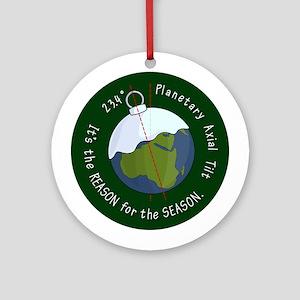 Planetary Tilt Ornament (Round)