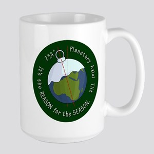 Planetary Tilt Large Mug