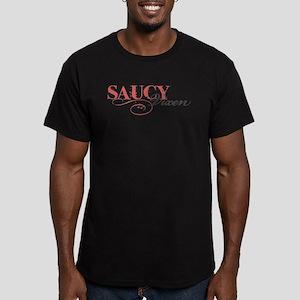 Saucy Vixen Men's Fitted T-Shirt (dark)