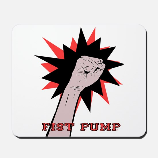 Funny Fist Pump Mousepad