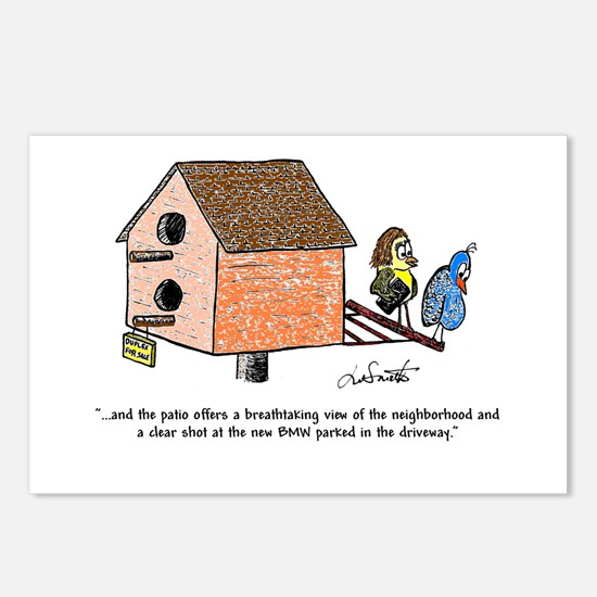 Flipping The Birdhouse Postcards (Package Of 8)