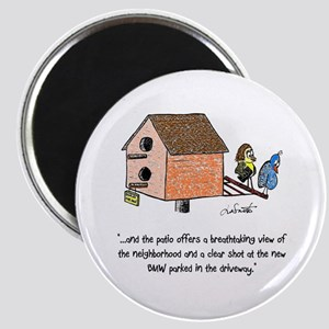 Flipping The Birdhouse Magnet Magnets