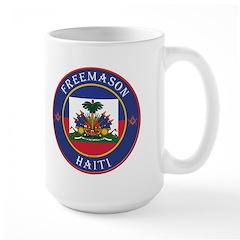 Haiti Freemason Large Mug