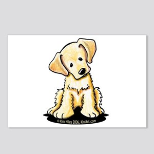 Lab Retriever Puppy Postcards (Package of 8)