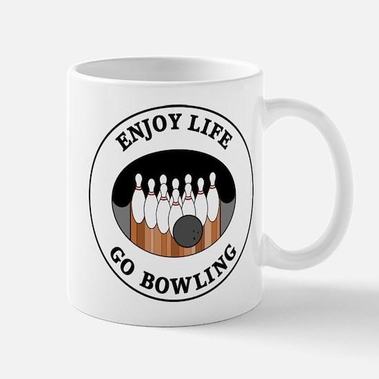 Enjoy Life Go Bowling Mug