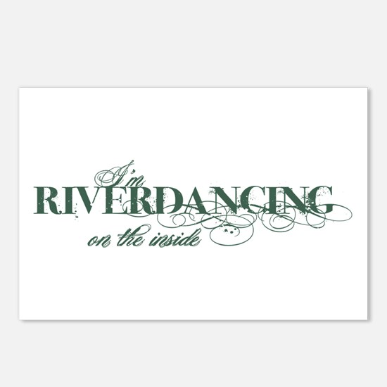 Riverdancing on the Inside Postcards (Package of 8
