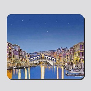 Stars Over Venice mousepad