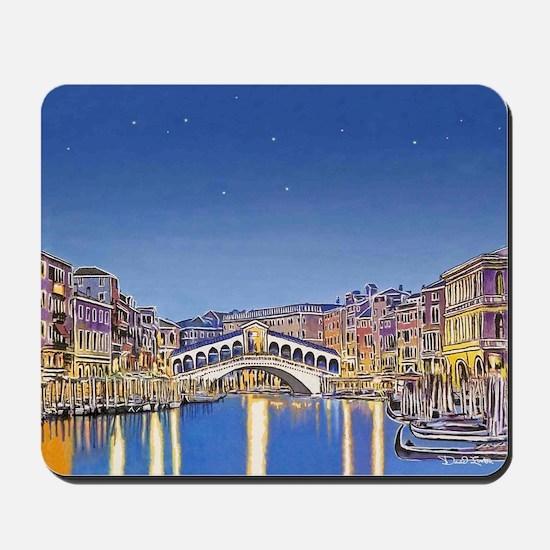 Stars Over Venice mousepad