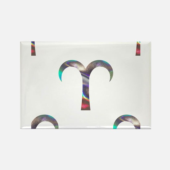 hologram aries Magnets