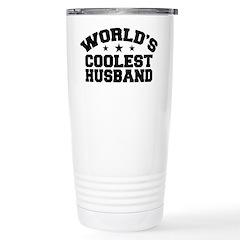 World's Coolest Husband Stainless Steel Travel Mug
