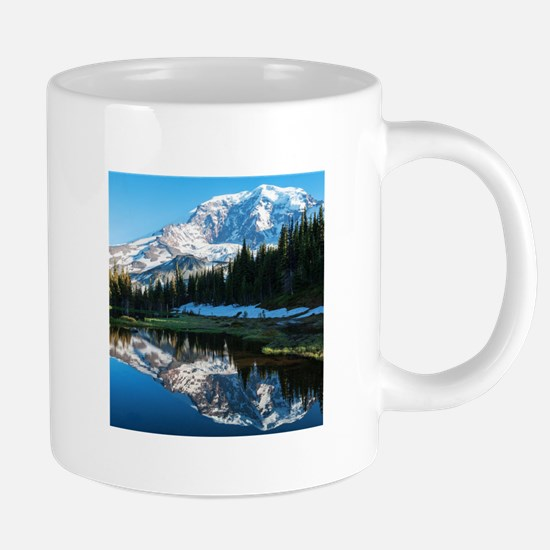 Mt. Rainier 20 oz Ceramic Mega Mug