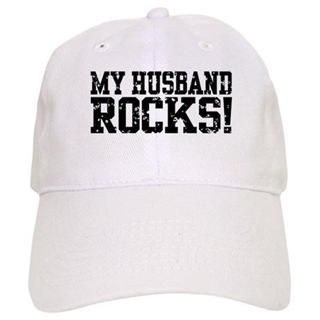 My Husband Rocks Cap