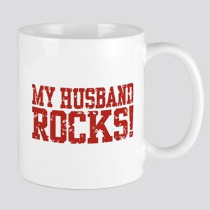 My Husband Rocks Mug