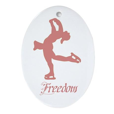 """Freedom"" Ceramic Ornament"
