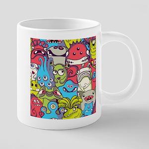 Monsters and Aliens 20 oz Ceramic Mega Mug