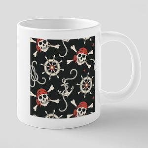 Pirate Skulls 20 oz Ceramic Mega Mug