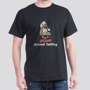 Animal Testing Black T-Shirt