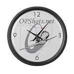 OPShots Large Wall Clock