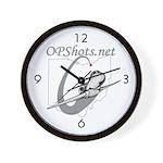 OPShots Wall Clock