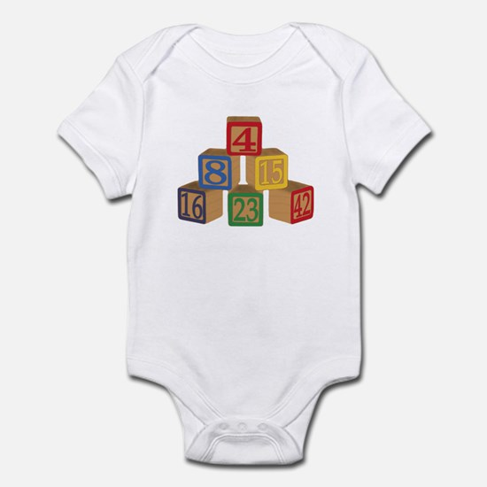 Number Blocks Infant Bodysuit