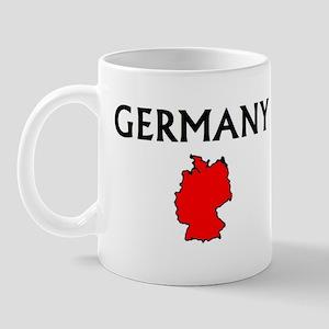 germanymap Mugs