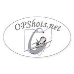 OPShots Oval Sticker (10 pk)