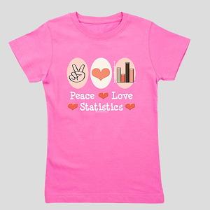 Peace Love Statistics T-Shirt