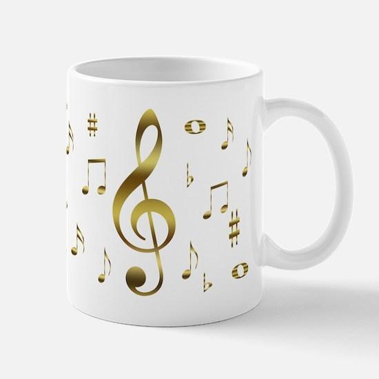 Music Gold Mug