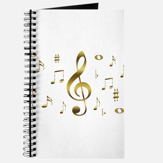 Music Gold Journal
