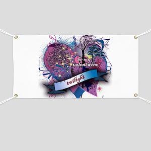 Twilight Valentwine Silhouette Banner