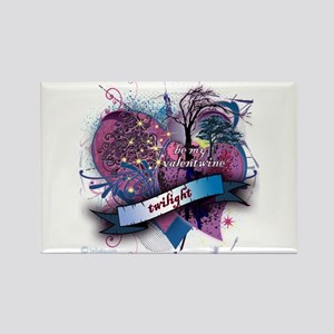 Twilight Valentwine Silhouette Rectangle Magnet
