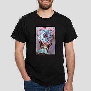 Fairy and Moon Window Dark T-Shirt