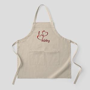 I love Abby Apron
