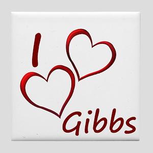 I love Gibbs Tile Coaster