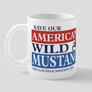 Save Our Mustangs Mug