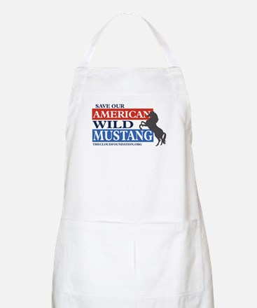 Save Our Mustangs Apron