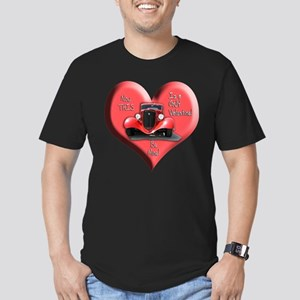 Helaine's GUY Valentine Men's Fitted T-Shirt (dark