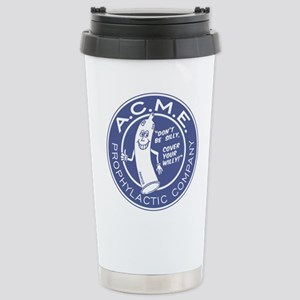 A.C.M.E. (Blue) Stainless Steel Travel Mug