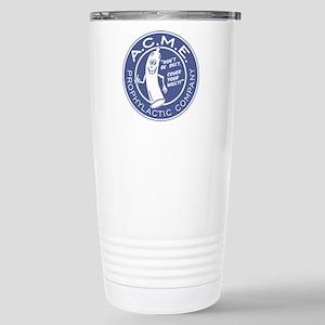 A.C.M.E. (Blue) Stainless Steel Travel Mug