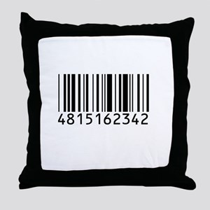 Barcode for 108 Throw Pillow
