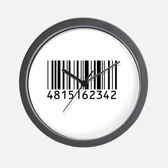 Barcode for 108 Wall Clock