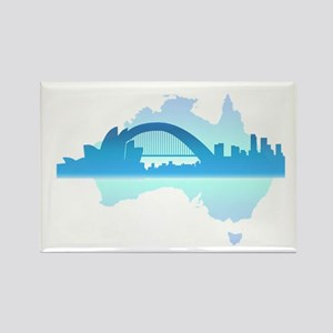 Sydney Rectangle Magnet