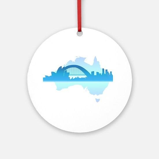 Sydney Ornament (Round)