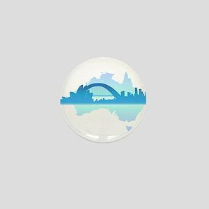 Sydney Mini Button